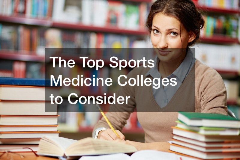 The Top Sports Medicine Colleges to Consider