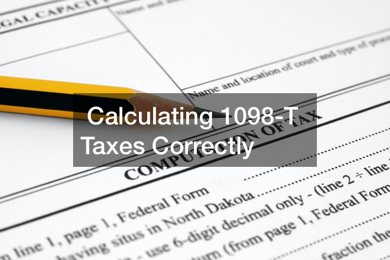 Calculating 1098-T Taxes Correctly