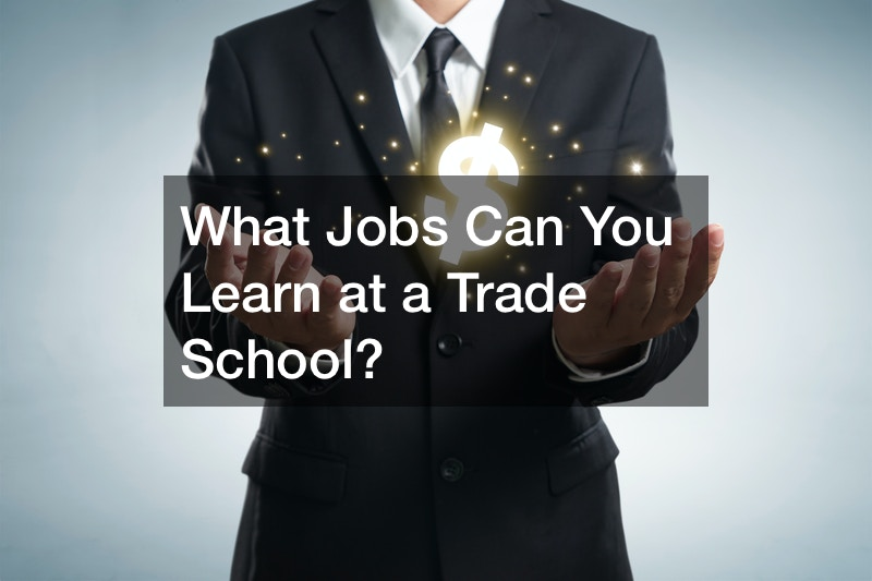 trades you can learn in trade school